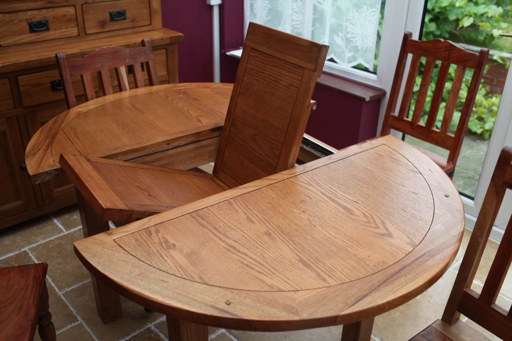 Dining Table Round Hidden Chairs
