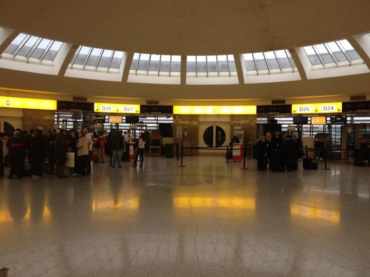 Checked in at Vienna International Airport (VIE) (Flughafen Wien-Schwechat)