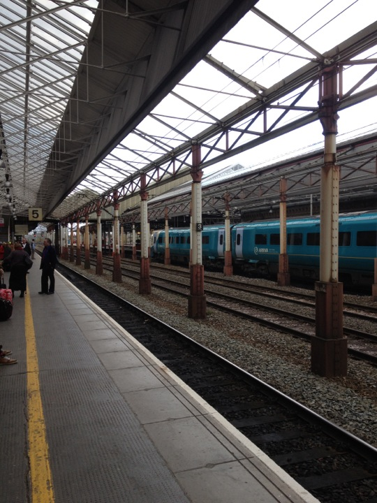 Checked in at Crewe Railway Station (CRE)
