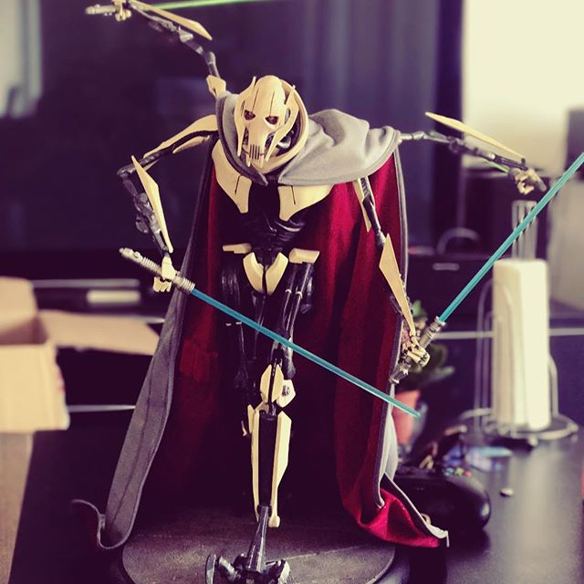 General Grievous has arrived... #StarWars