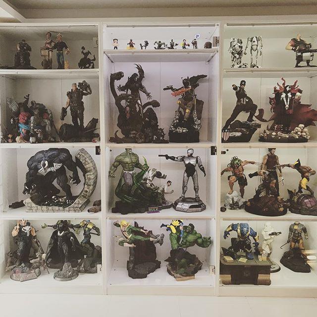 Need allot more shelves !!