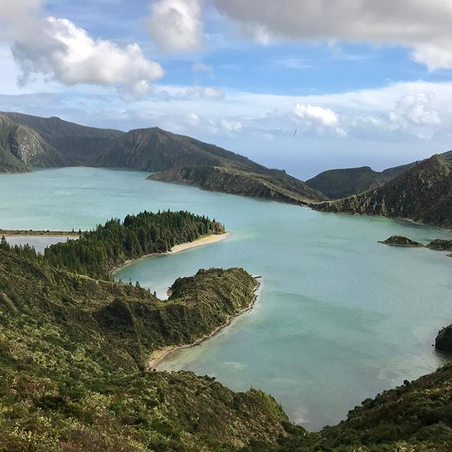 "Last week we visited the ""Lagoa do Fogo"" in São Miguel, AZORES, it had been quite a few years since I been there, still stunning as I remembered"