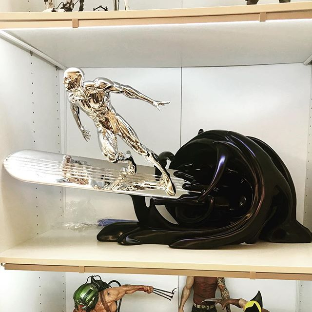 Silver Surfer has arrived, not a millimetre to spare on the PAX shelves!