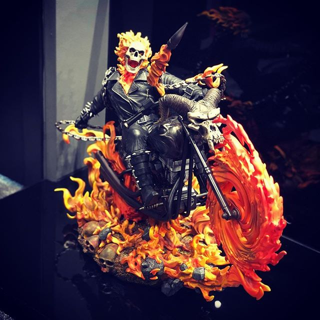 Finally I got a Ghost Rider !! After 2 years of searching, number 577 is on its way to me.